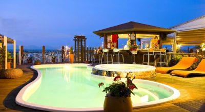 Piscina hotel pet Friendly Estate Rimini