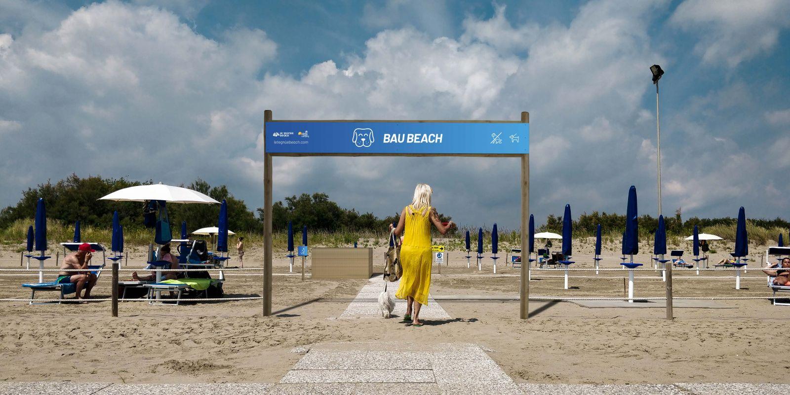 Bau Beach lL Tegnùe Chioggia Mypethotel